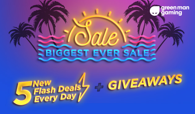 Green Man Gaming's Biggest Ever Summer Sale!