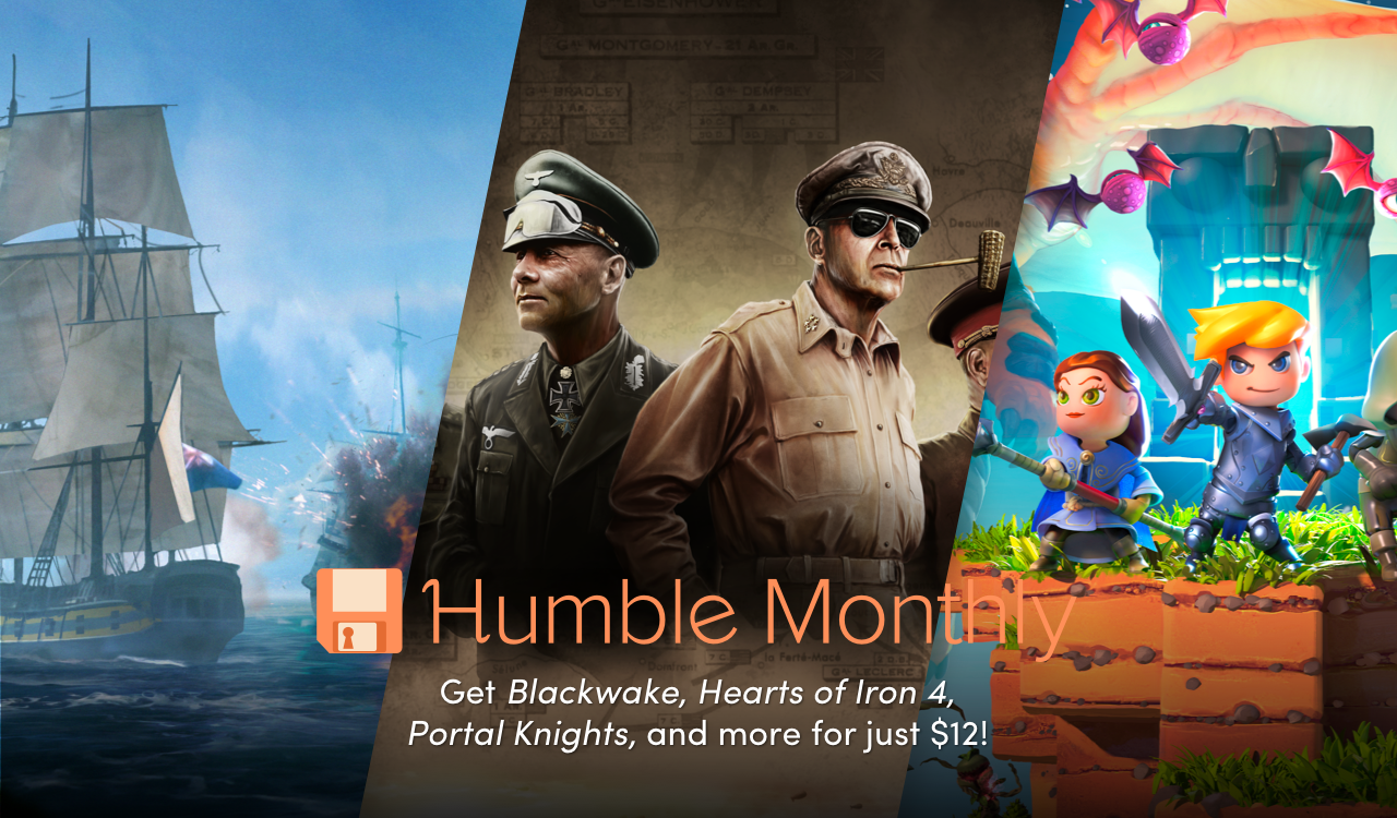 July's Humble Monthly